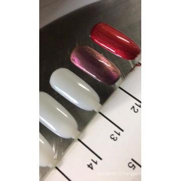 2018 nouveau produit! vente en gros gel pour les ongles thermochromique 31degree / gel UV à séchage rapide avec tous les effets de couleur et plus respectueux de l'environnement