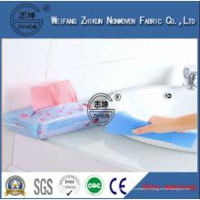 Tissu non tissé éponge élastique et à usage unique pour nettoyage de cuisine