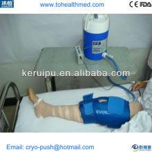 terapia física fría en rehabilitación