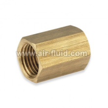 Female Hex Socket BSPP Thread N.P Brass Fittings