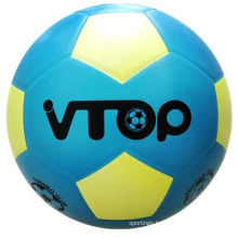 Smooth Surface Rubber Soccer Ball with Blue Color