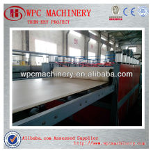 wpc crust foam board machine for construction board
