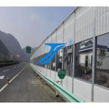 Série Barrière de verre pour route.