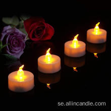 Battery realistic faking Flameless LED tealight candles