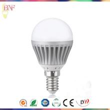 Bulbos globais E14 da luz de dia da fábrica do diodo emissor de luz G40 para a iluminação de Linan