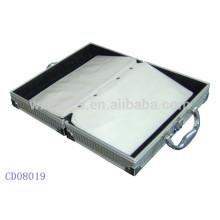 sostenedor CD de alta calidad CD 64 discos aluminio por mayor de China fabricante