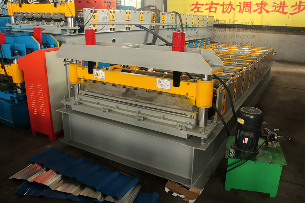 Roof Wall Steel Corrugated Machine
