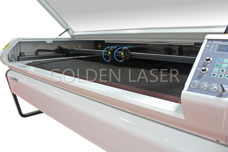 GOLDEN LASER Two Head Laser Cutter