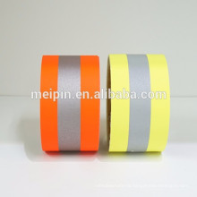 Reflective tent fabric tape