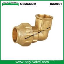 OEM&ODM Quality Brass Forged Female Elbow (IC-7010)
