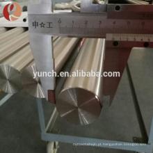 Barra de zircônio / haste de metal preço