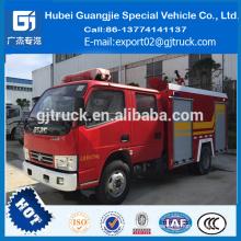 precio barato DongFeng nuevo camión de bomberos para salerescue cabina doble 4 * 2 camión de bomberos