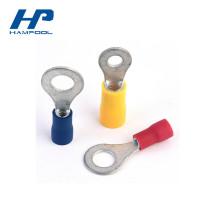 Connecteurs électriques à sertir de terminaux d'anneau de PVC pré-isolés