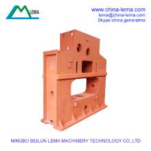 Large steel Q235 casting injection machine frame rack