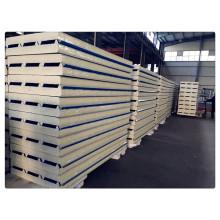 Trapzoidal PU Sandwhich Panel for Prefab Houses