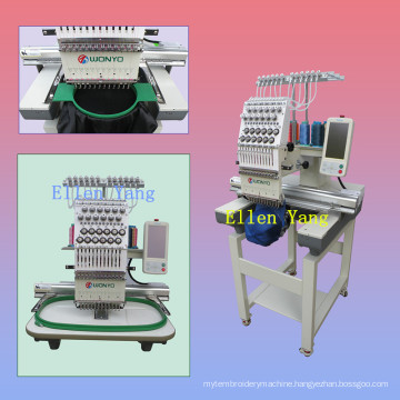 Wonyo Computerized Single Head Embroidery Machine 15 Color Wy1501/1201c