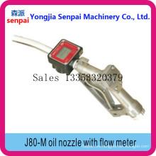 Boquilla de aceite con medidor de flujo Medidor de flujo Boquilla de aceite