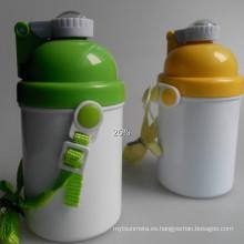 Nueva botella de agua de la sublimación del cabrito para la impresión de transferencia de calor 400ml