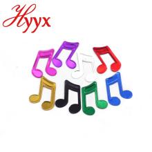 HYYX Personalizado Cor da música chinesa fontes do partido do tema push pop papel confetti para decoração do feriado