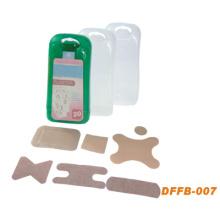 Trousse de premiers secours de poche de mini kit de premiers secours en plastique (DFFB007)