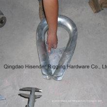 Cartuchos de cuerda de alambre galvanizado resistente dedal G414