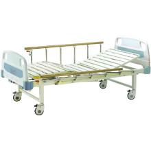 Cama de hospital cama de paciente móvil Full-Fowler con cabeceras de ABS (B-16)