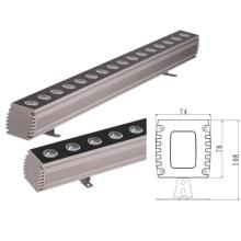 Lavadora de pared LED de alta potencia de 18W DMX512RGB LED Lavado de pared