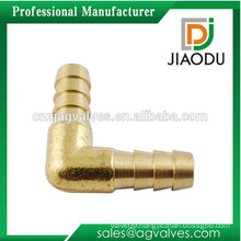 "3/8"" ID Elbow 90 degree Hose Barb Union Fitting, Brass"