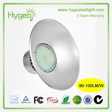 Produtos quentes Preço barato da chegada nova Iluminação elevada conduzida 50W da baía 3 anos de garantia