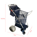 Multi-purpose 600D Oxford Cloth Deluxe Folding Utility Beach Cart