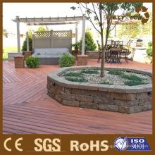 Nouvelle technologie de terrasse Garden WPC Coextrusion Decking