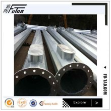 Galvanized 20m SlipJoint Light Pole High Mast