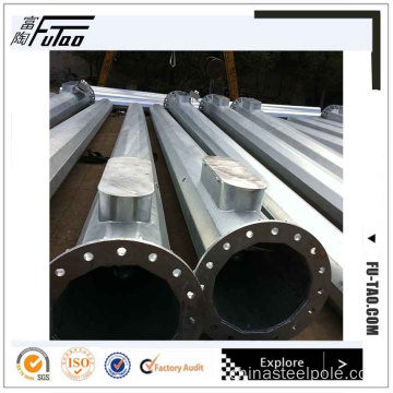 High Quality 30m Galvanized Steel Monopole