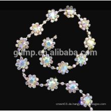 Rhinestone-Schalen-Kettenkristall-Ordnung für Brautstirnband