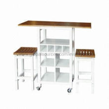 High-quality Table with Stools, Cheapest Price, Unit Sized 97 x 40 x 91cm, Confirms EN71 Test