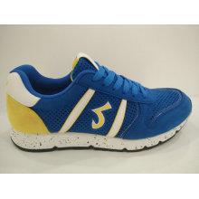 O azul dos homens para fora caia sapatas Running do Verão