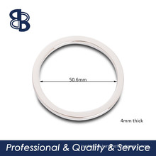 2 inch flat round ring for handbags