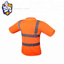 High Visibility 100% cotton reflective tape t-shirt