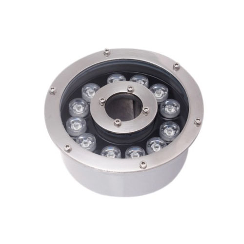 Nozzle Mounted RGB 12W LED Fountain Light