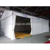 Big outdoor party tent for car show