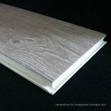 Impermeable resistente al fuego WPC laminado de pisos de fácil instalación WPC laminado de pisos