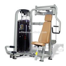 alta calidad y barato comercial sentado máquina de pecho máquina / pecho ejercicio gimnasio equipos / uso doméstico máquina de deportes para la venta