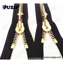 Zip Garment Accessories Metal Zipper with Opened Ended