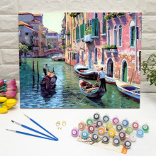 Paint by numbers with Frames Venice Boat Tours
