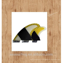 Nageoires de surfboard de surf de fibre de surf de fibre de verre de haute qualité de nouvelle saison pour des ventes