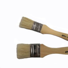 30mm Poplar Handle White Bristle Paint Brush