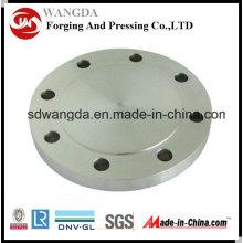 PL углерода & нержавеющая сталь кованая Пластина фланца Pn6 En1092-1 Type01