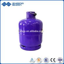 Cilindro de gás Lpg de oxigênio comercial de alta pressão de aço Página inicial