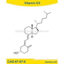 Vitamina D3 da Materiawl Raw, poder da vitamina D3, vitamina D3 da USP / 67-97-0
