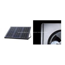 Ventilador de telhado sem fio movido a energia solar 12W